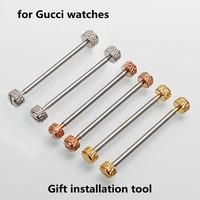 Horloge Accessoires Voor Gucci Gc Drijfstang Horloge Stalen Staaf 22 Mm 4 Fuvavomlm