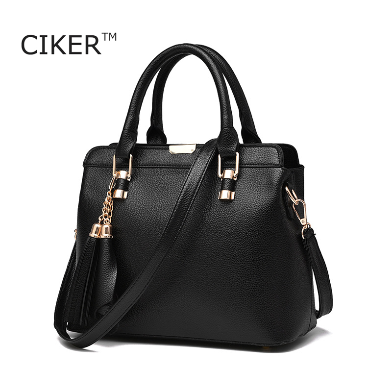 CIKER New Tassel High Quality Women Messenger Bags Crossbody Bags for Women Luxury Leather Shoulder Bag