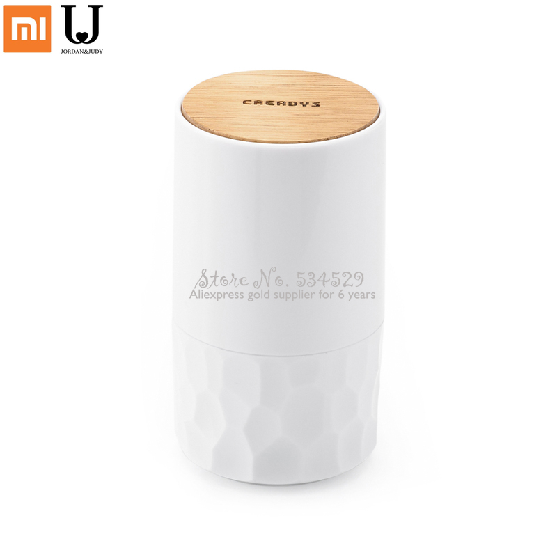 Smart Home XiaomiSmart Home XiaomiCreative Automatic Cotton Swab Storage Box Hand Press Retractable Can
