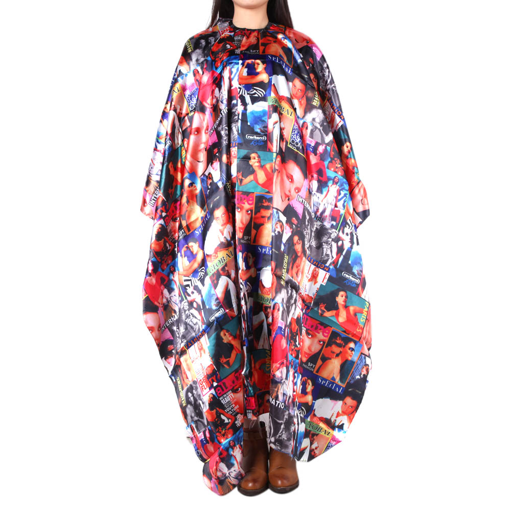 5 Types Hairdressing Cape for Barber Hair Cutting Styling Salon Apron Professional Hair Wrap Gown Cloth Tool 6
