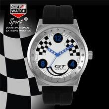 GT Luxury Brand Men Sports Relojes de Moda Fresca serie de Carreras de Silicona Reloj de Pulsera del relogio Nuevos Auténtico FD0791