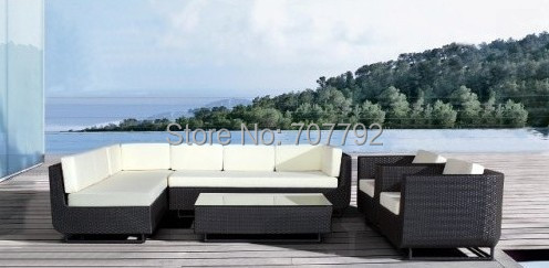 2017 all weather outdoor luxury furniture rattan sofa setschina