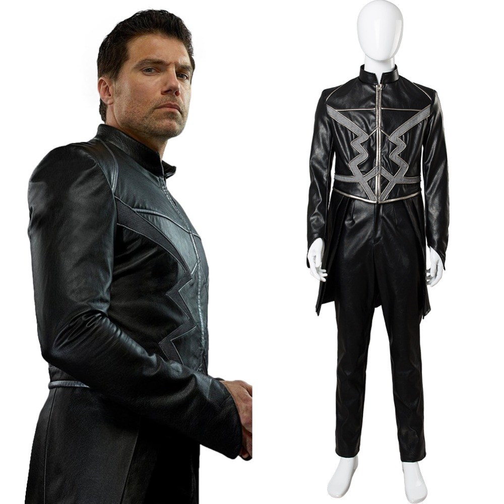 Inhumans Cosplay Black Bolt Cosplay Costume Outfit Adult Men Women Black Bolt Blackagar Boltagon Cosplay Costume Custom Made