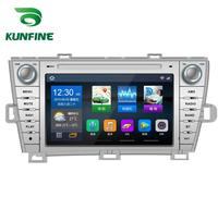 Quad Core 1024*600 Android 6.0 Car DVD GPS Navigation Player Deckless Car Stereo For Toyota PRIUS 2012 Radio Headunit WIFI