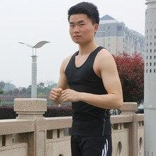 2018 Men Exercise Suspender Vest Under Waist Sport Dry Quick Running Sport Vest Wear Male Fitness