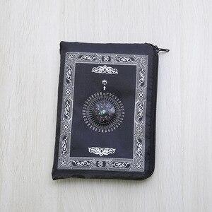 Image 5 - Mới Nhất Hồi Giáo Cầu Nguyện Thảm Túi Cầu Nguyện Kèm La Bàn 4 Màu ĐHG Fedex Miễn Phí Vận Chuyển