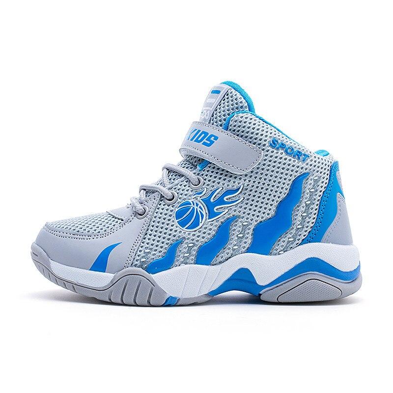 3f2f993ac194 2018 neue Hohe Qualität Sport Junge Basketball Schuhe Günstige Kinder  Anti-Slip Sneakers Training Schuhe Jungen Basketbol Ayakkabi