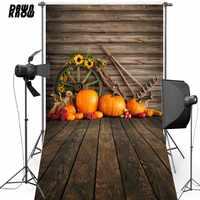 DAWNKNOW Halloween fête vinyle photographie fond pour enfants citrouille Polyester toile de fond pour bébé Photo Studio HA195