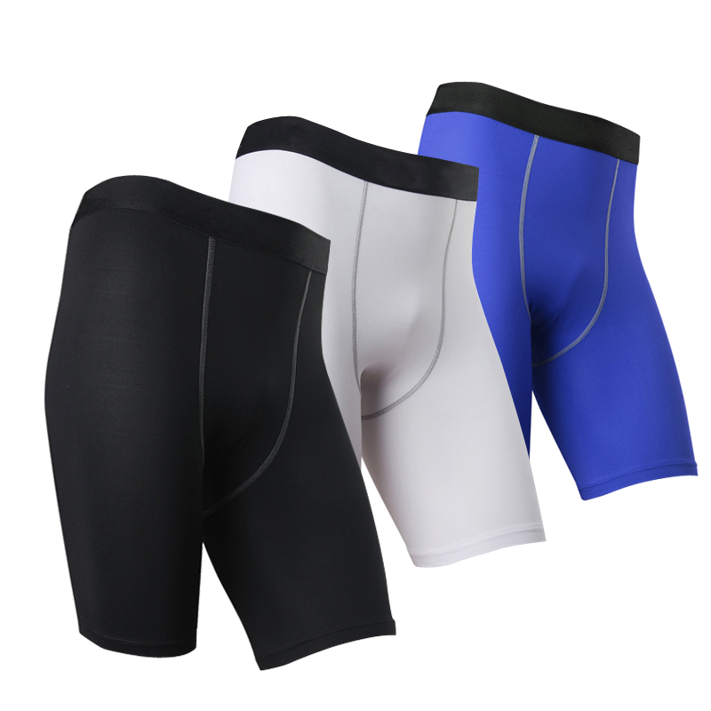 New Mens PRO Running Shorts Colourful Tight Quickly Dry Short Pants Flexible Breathable Mens Trainning Trousers Running Pants ...