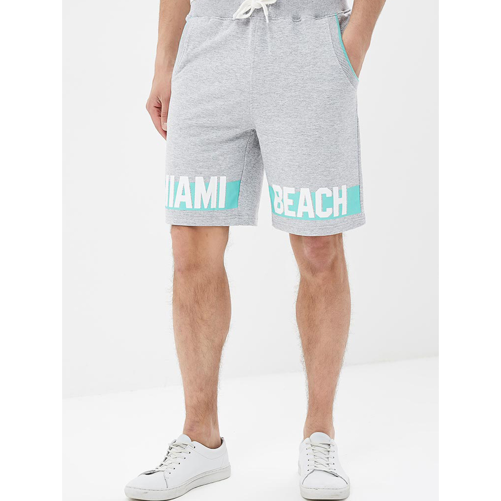 Casual Shorts MODIS M181M00287 men cotton shorts for male TmallFS lace up front shorts