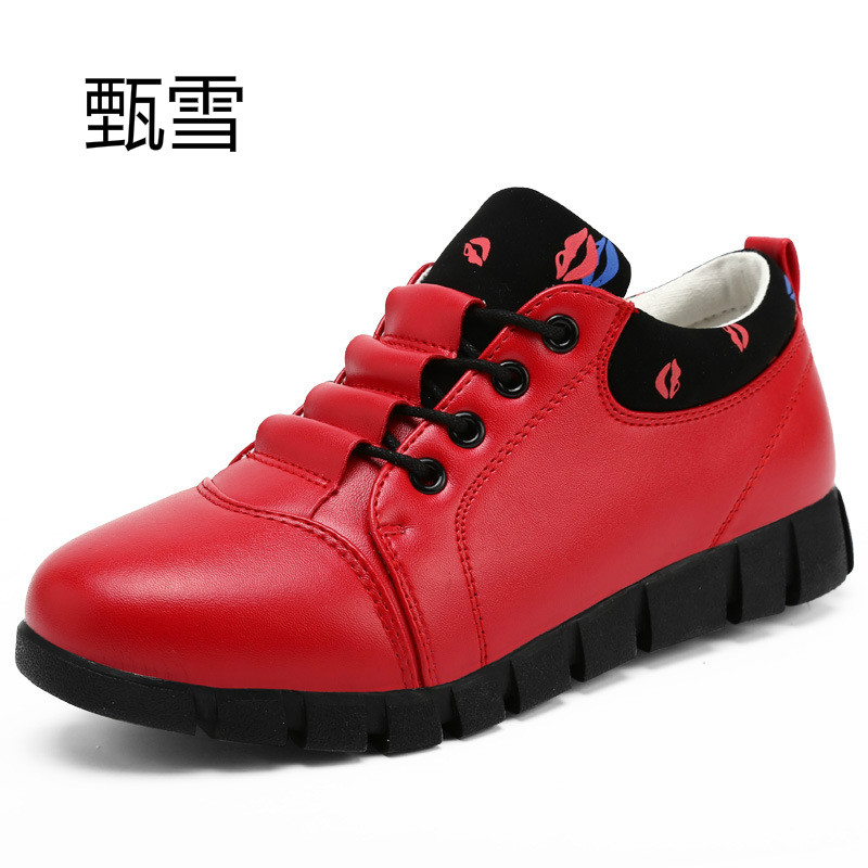 2017 new summer ladies fashion comfort flat white shoes casual shoes