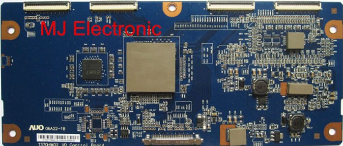 Integrated Circuits 2019 New Style Lcd T-con T370hw02 V0 Control Board 06a22-1b Auo 37 Inch Logic Board For Philips Working Good! Active Components