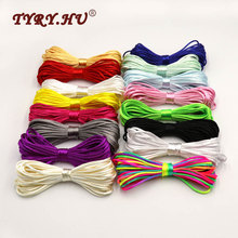 TYRY.HU Colorful 20Meters Satin Silk Rope Nylon Cord For Baby Teether Accessorie