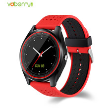 V9 Bluetooth Smart Watch With Camera SIM TF Smartwatch Pedometer Health Sport MP3 Clock Hours Men Women Watches For Android IOS