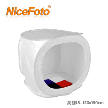 NiceFoto 150cm round shed 150cm cotans lambed shed softbox flock printing background cloth