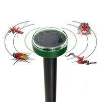 Solar Power Ultrasonic Gopher Mole Snake Cat Bird Mosquito Mouse Ultrasonic Pest Repeller Control Garden Yard