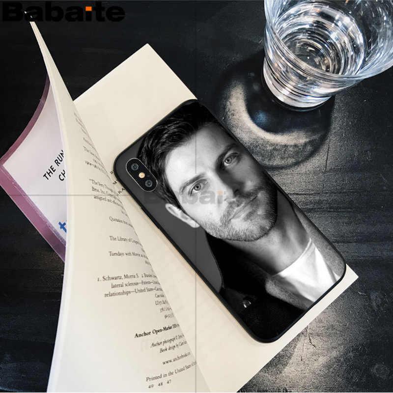Babaite Grimm David Pola TPU Lembut Aksesoris untuk iPhone 8 7 6 6S PLUS 5 5S SE XR X XS Max Coque Shell