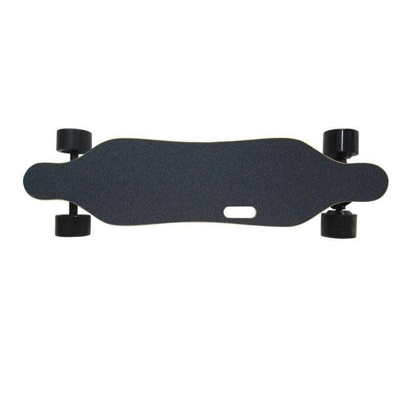 2019 Nouveau Amovible skateboard électrique Électronique mini Longboard télécommande trottinette électrique 350 W * 2 Hub-Moteur