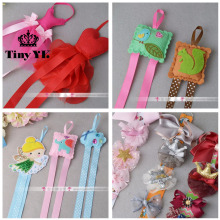 1 piece New Arrival Girls hair clips organiser holder ribbons Solid Children accessories Hair Bows Baby Hair Accessories