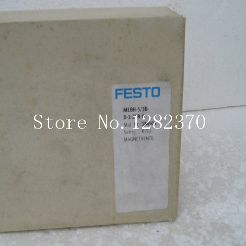 New original authentic FESTO solenoid valve MEBH-5 / 3B-D-2-ZSR-C spot 184506 new original authentic solenoid valve vfs2130r 4do 02f