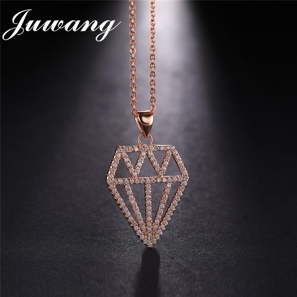 Pendentif colliers or couleur chaîne de luxe bijoux cadeau en gros