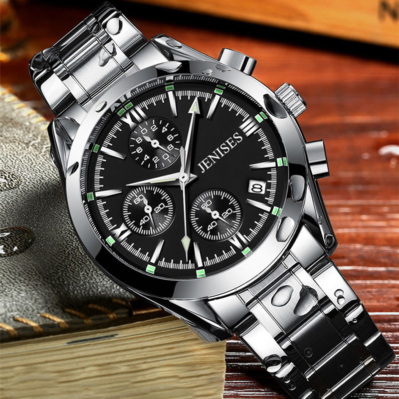 2018 Men Watches Luxury Brand Stainless Steel Waterproof Sport Watch Men Quartz Business Clock Male relogio masculino horloges