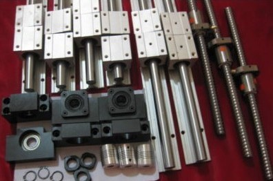 6 X SBR16 Linear guide sets + 3 x SFU1605 ball screw + 3pcs BK12 BF12 + 3pcs Couplers 6.35 * 10 12 hbh20ca square linear guide sets 4 x sfu2010 600 1400 2200 2200mm ballscrew sets bk bf12 4 coupler