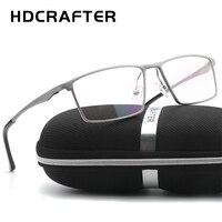 HYDCRAFTER Men Women Optical Frames Eyeglasses Frames Commercial Glasses Fashion Eyeglasses Prescription Aluminum Frame