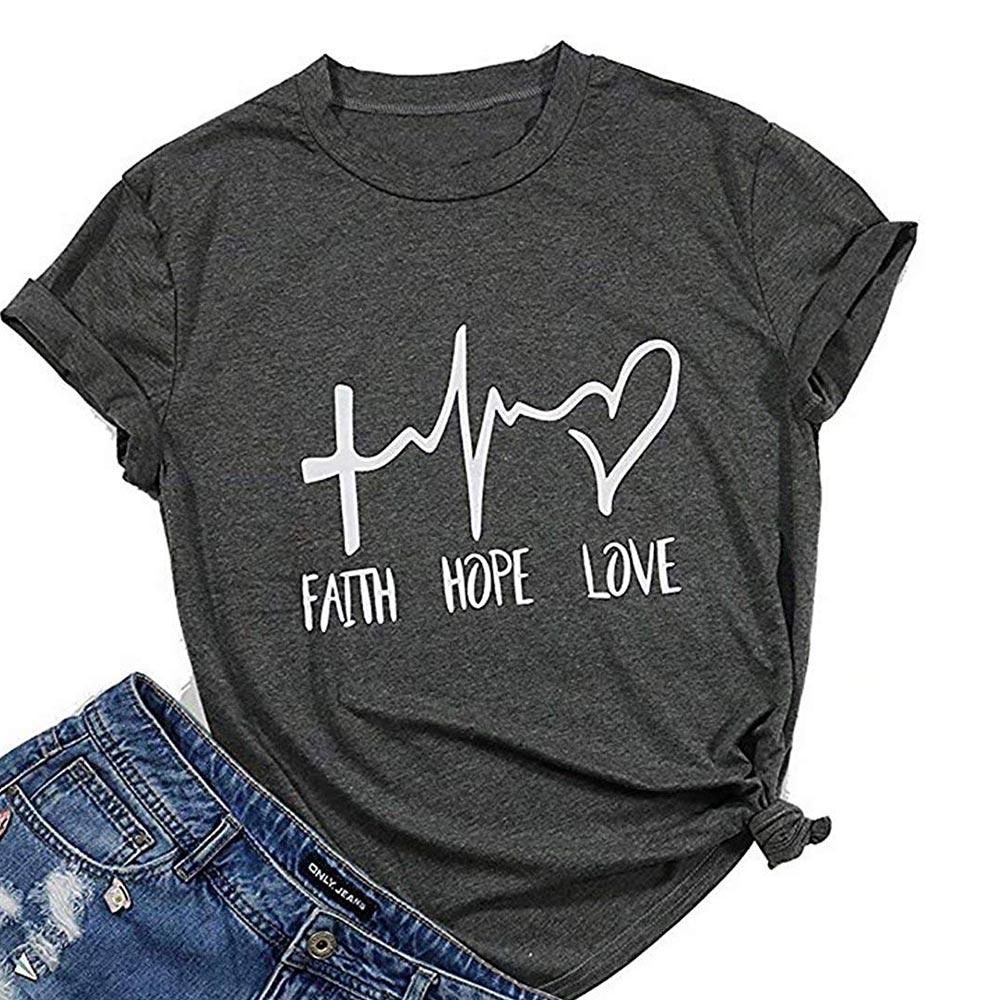 Sleeve Faith T Shirt 8
