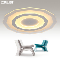 Contracted modern round living room lamp, lighting, LED lamp,
