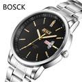 Luxury Top Brand Men's Watch Date Day Stainless Steel Relojes Business Hour Clock Dress Men Casual Quartz Watch Sport Wristwatch