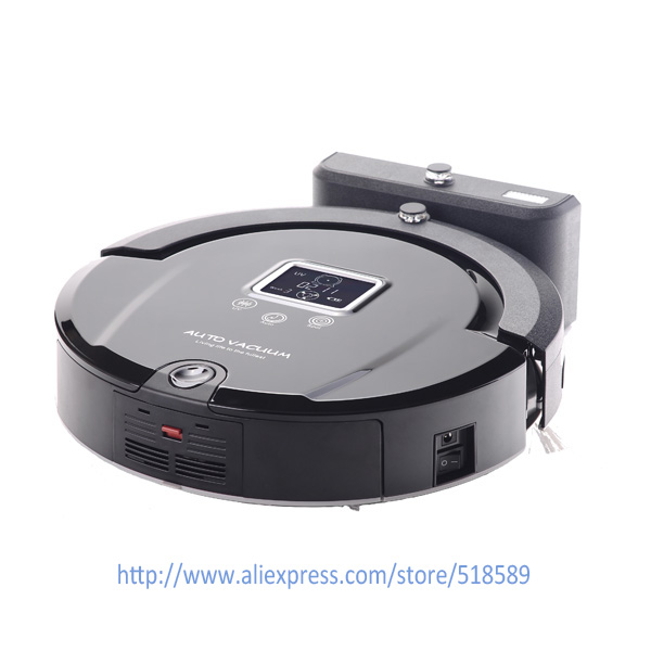 Newest Lowest Noise Intelligent Robot Vacuum Cleaner For Home A320 Free Shipping in Vacuum Cleaners from Home Appliances