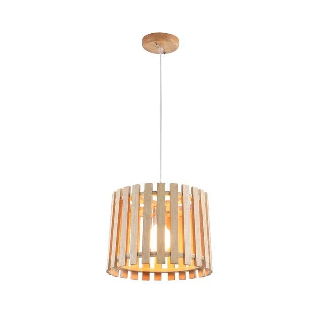 Elegent Design Nordic Hause Stil Holz Pendelleuchte Moderne Kreative ...