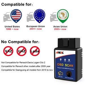 Image 5 - ELM327 Bluetooth OBD2 Scanner Automotive Scanner Auto OBD 2 Diagnose Werkzeug ELM327 Fehler Code Reader OBDII ELM327 Adapter