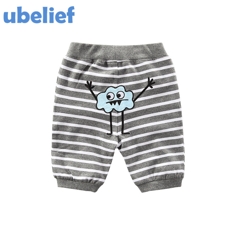 UBELIEF Kids boys Summer Shorts Child Shorts Trousers Toddler Boy Shorts Baby Kids The Cartoon Striped