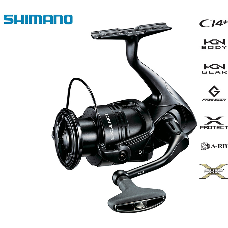 SHIMANO Original EXSENCE CI4 C3000M 3000MHG 4000MHG 4000MXG X PROTECT Spinning Fishing Reel Special for Sea