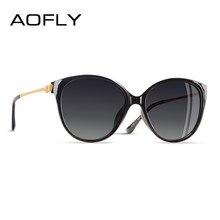 AOFLY – lunettes de soleil polarisées œil de chat pour femmes, DESIGN de marque, tendance, pour conduire, voyager, amour Temple, UV400, 2020