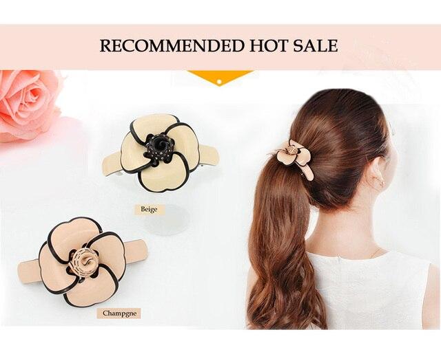 Женский аксессуар для волос из целлюлозной ацетатной ткани