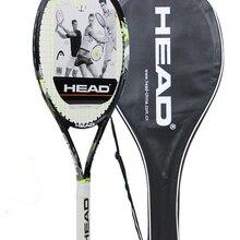 Оригинальная Теннисная ракетка, карбоновая Теннисная ракетка, теннисная ракетка с завязками, теннисная сумка для женщин и мужчин, теннисная ракети