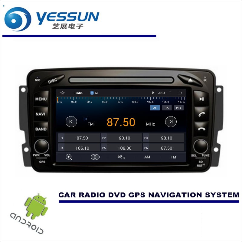YESSUN For <font><b>Mercedes</b></font> Benz C Class <font><b>W203</b></font> Car Multimedia Navigation System CD DVD <font><b>GPS</b></font> Player Navi Radio Stereo Wince / <font><b>Android</b></font> image