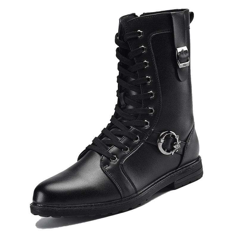 2016 font b Boots b font Military font b boots b font font b men b