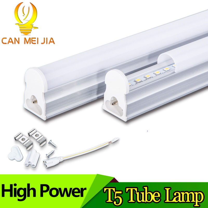 LED Tube T5 Light Lamp Integrated Wall Tube 5W 9W 10W 30CM 60CM 2ft 300mm 600mm T5 Led Lights SMD 2835 Lighting Warm Cold White lucky led tube t8 600mm led bulbs tubes 9w ac110v 220v smd2835 pf 0 95 no flicker integrated light wall lamps warm cool white