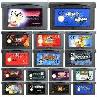 32 Bit Video Game Cartridge Console Card AVG Adventure Game Series English Language Edition nintendo gba video game cartridge console card collection english language eg005 24 in 1