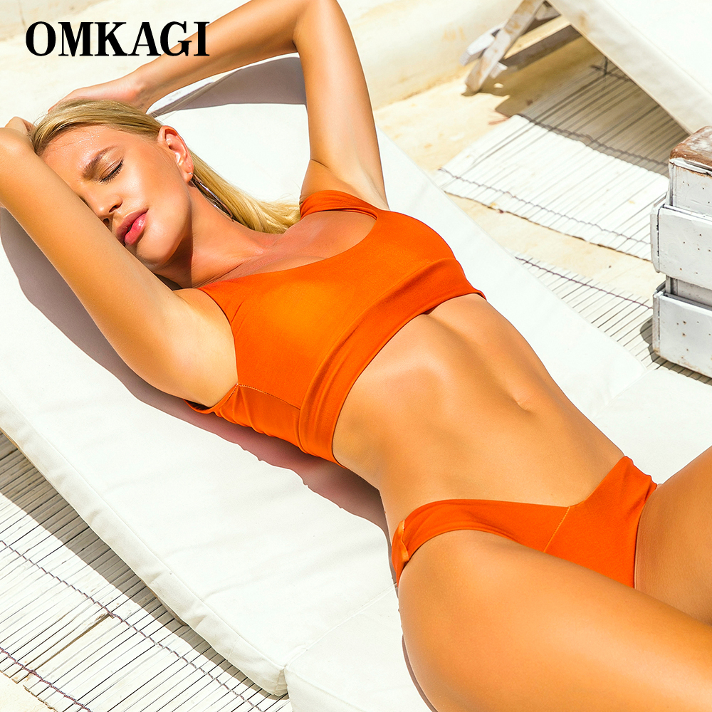 OMKAGI Bikini 2018 Swimsuit Swimwear Women Sexy Push Up Swimming Bathing Suit Beachwear Sport Bikinis Set Maillot De Bain Femme 2017 new hot push up bikini brazilian biquini swimsuit swimwear tops women sexy bikinis set bathing suit maillot de bain femme
