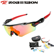 ROBESBON Polarized Cyling Goggle Gafas Ciclismo Driving Fishing Sunglasses Glasses Outdoor Sports Bike Bicycle Eyewear 5 Lenses