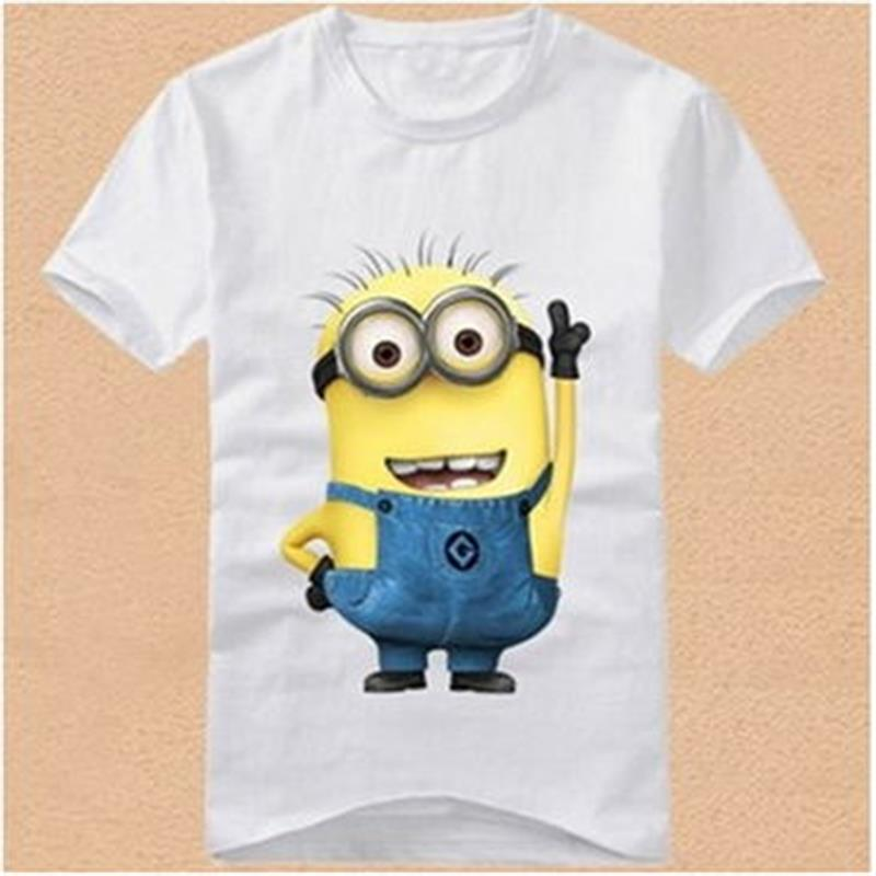 Xiangdongdong Boys Children Summer T Shirt Cotton Cute Minion Cartoon Fashion Short Shirt Top & Tees Kid Clothes ...