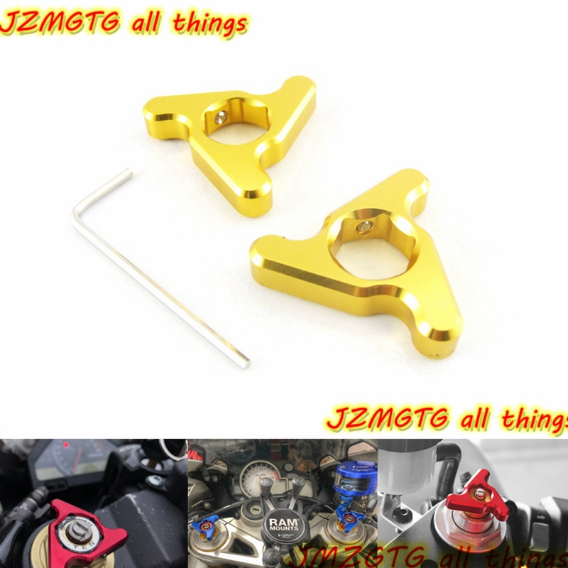 For DUCATI Streetfighter 1198 848 1098 999 749 suspension fork preload adjusters