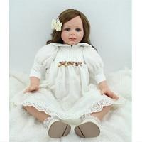 24inch Bebe Reborn Menina Realistic Newborns Soft Silicone Baby Npk Dolls for Girls Brinquedo Menina Christmas Gifts Kids Toys