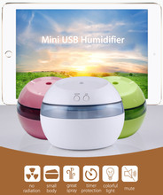 New Mini Humidifier Creative Gifts USB Charging Air Humidifier Super Sound-off Practical for Home Portable Aromatherapy Machine