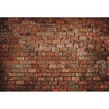 Laeacco Brick Wall Grunge Scenic Celebration Baby Portrait Photography Backgrounds Photographic Vinyl Backdrops For Photo Studio